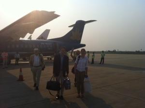 Arriving in Siem Reap
